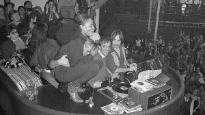 Diana Ross Squats Atop Disc Jockey Booth at Studio 54