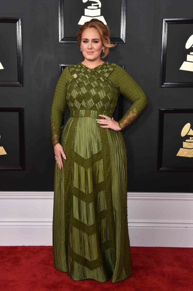 Adele in Givency by Riccardo Tisci (courtesy photo)