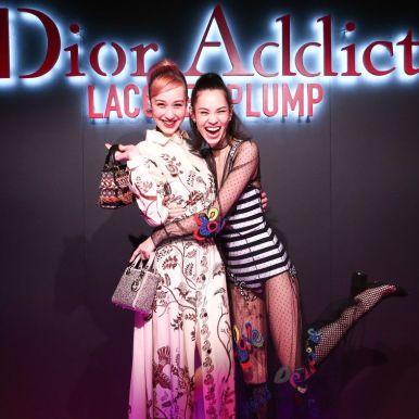 Yuka Mizuhara and Kiko Mizuhara are some of the guests at the Dior Addict Lacquer Plump party in Los Angeles this week. (Billy Farrell / John Salangsang / BFA.com)