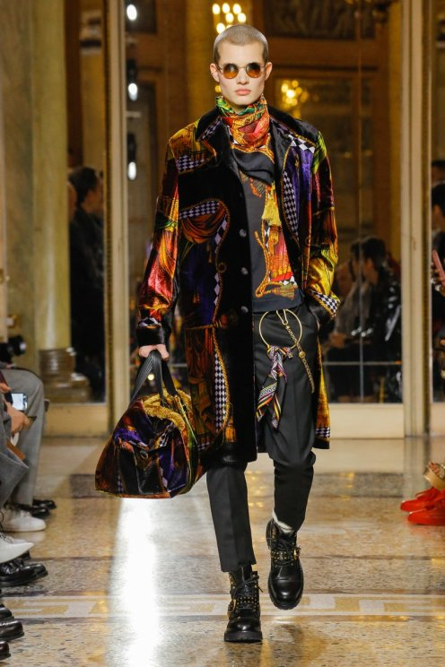 Versace fall/ winter 2018-19 collection