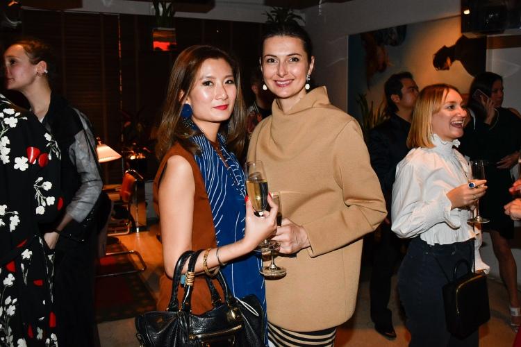 British Fashion Council Party in Hong Kong
