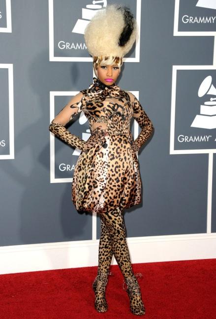 Nicki Minaj in Givency by Riccardo Tisci (Photo by Jason Merritt/Getty Images)