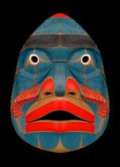 Aboriginal Totem Mask.