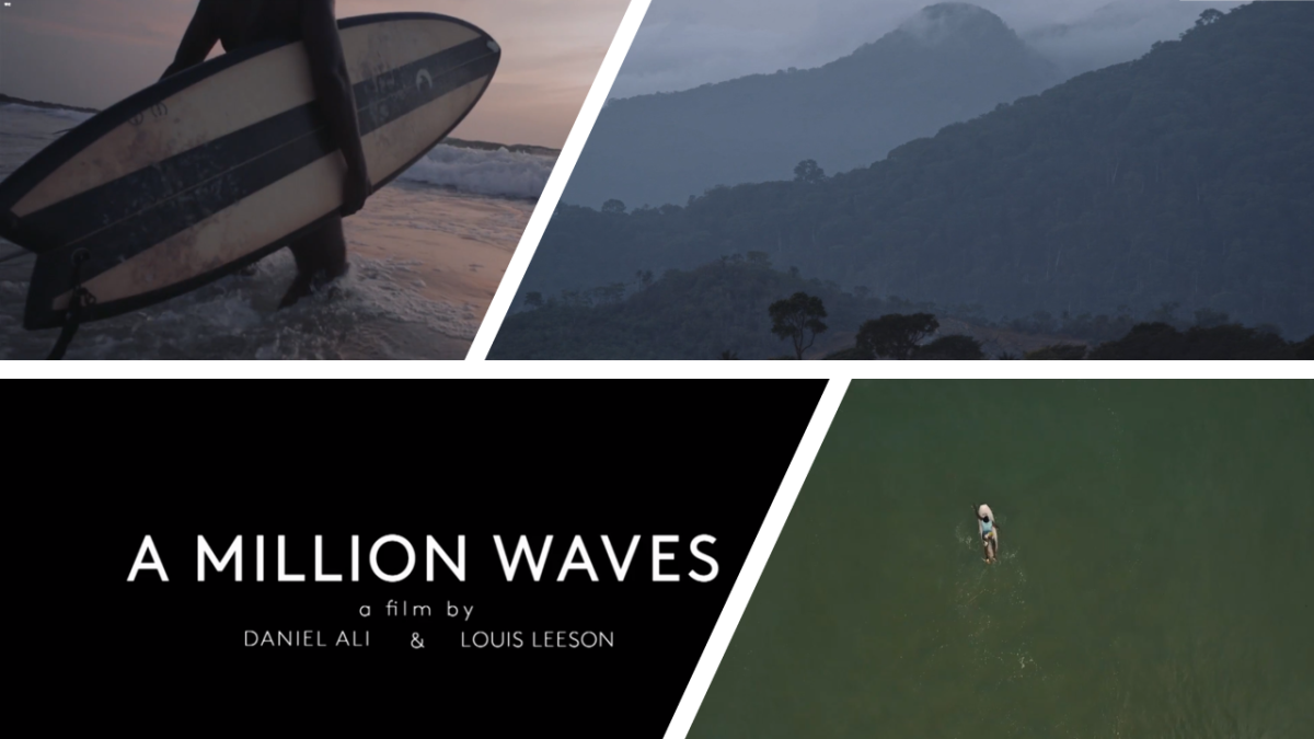 Film Makers Document The Only Female Surfer In Sierra Leone And We Interview Them.