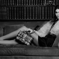 Behind-The-Scenes: Chanel's New Campaign With Kaia Gerber At Coco Chanel's Apartment.