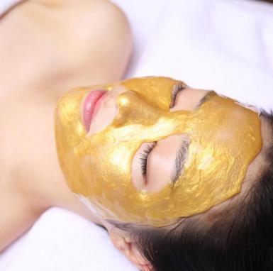 """Korean Beauty: Modeling """"Rubber"""" Masks, $49."""