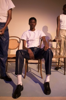 """Exhibition image from """"Personal Politics"""" by Bianca Sanders. Photography Nwaka Okparaeke"""