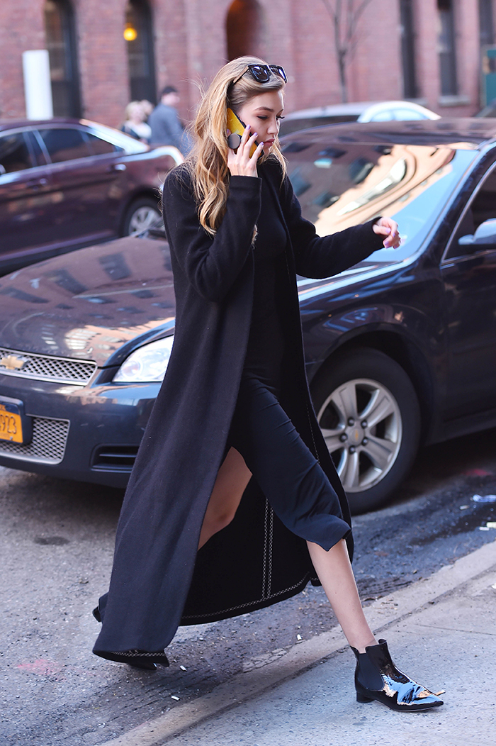 BuzzFoto Celebrity Sightings In New York - March 30, 2016