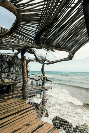 Azulik, a sustainable Luxury Eco retreat located in Tulum, Mexico