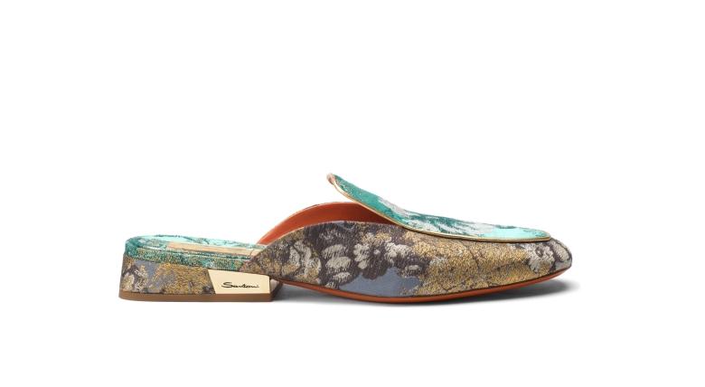 1_Santoni SS19 pre_Degas_mule_blue tiffany and slate