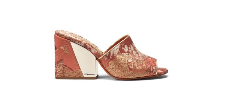 2_Santoni SS19 pre_Degas_mule sandal_red and coral