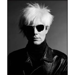 Andy Warhol by Greg Gorman