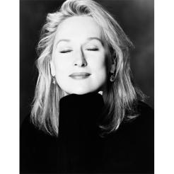 Meryl Streep by Greg Gorman