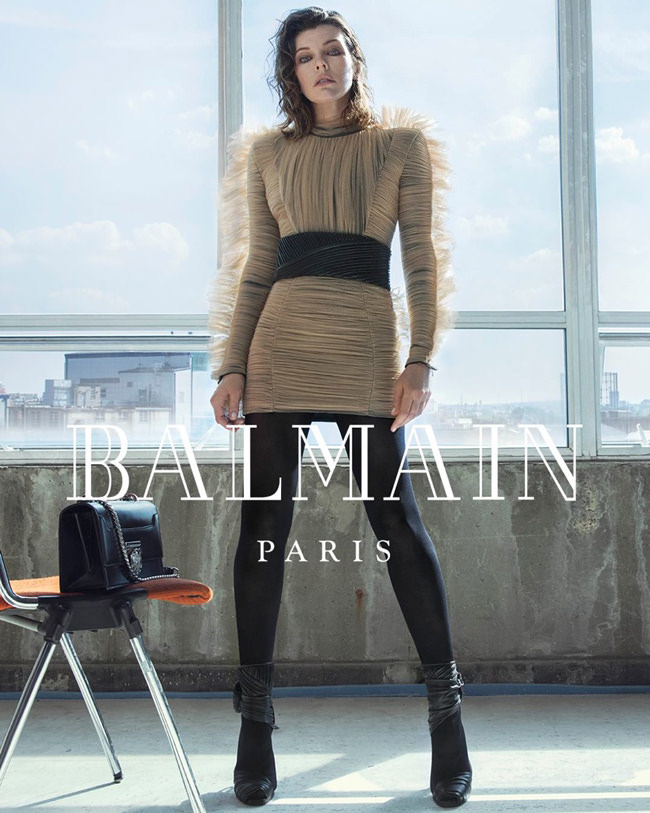 Milla-Jovovich-Balmain-Fall-2018-Ad-Campaign-Fashion-Tom-Lorenzo-Site-2