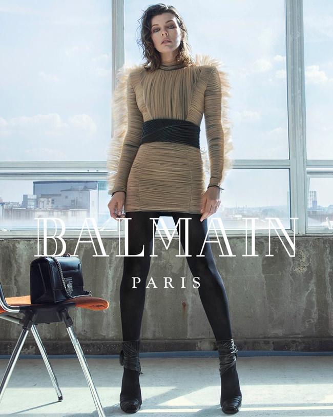 Milla-Jovovich-Balmain-Fall-2018-Ad-Campaign-Fashion-Tom-Lorenzo-Site-2