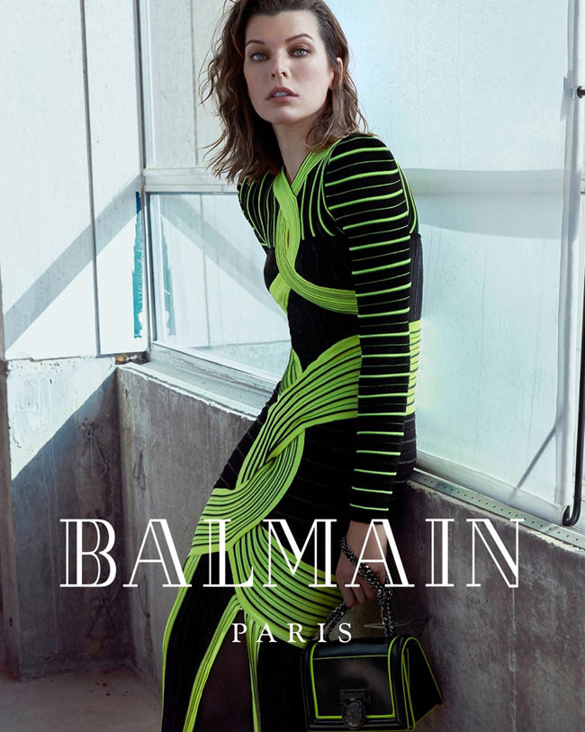 Milla-Jovovich-Balmain-Fall-2018-Ad-Campaign-Fashion-Tom-Lorenzo-Site-3