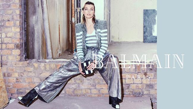 Milla-Jovovich-Balmain-Fall-2018-Ad-Campaign-Fashion-Tom-Lorenzo-Site-9