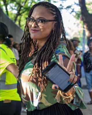Ava DuVernay at Afropunk 2018 courtesy image Instagram