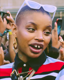 Model Slick Woods at Afropunk 2018 courtesy image Instagram