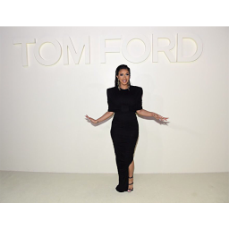 Cardi B at the Tom Ford SS19 show in New York