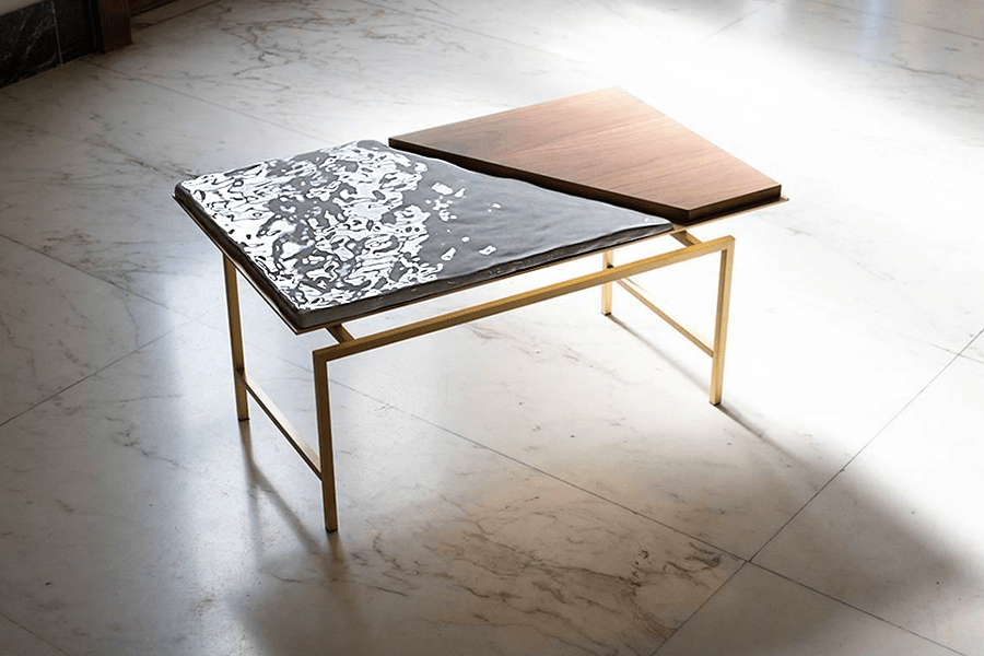 The Secret Place of Design event: Table by Mat Snaer (photo: courtesy)