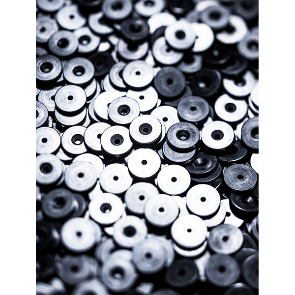 Metal components of the String system manufactured in the South of Sweden. (photo: Bruno Ehrs)
