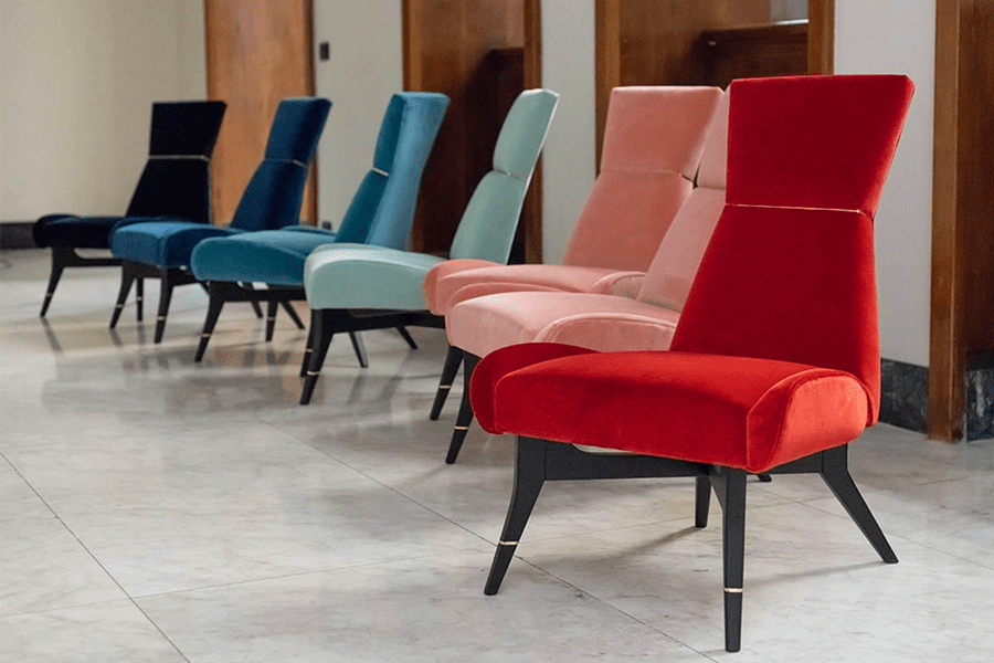 The Secret Place of Design event: Chairs by Uni (photo: courtesy)