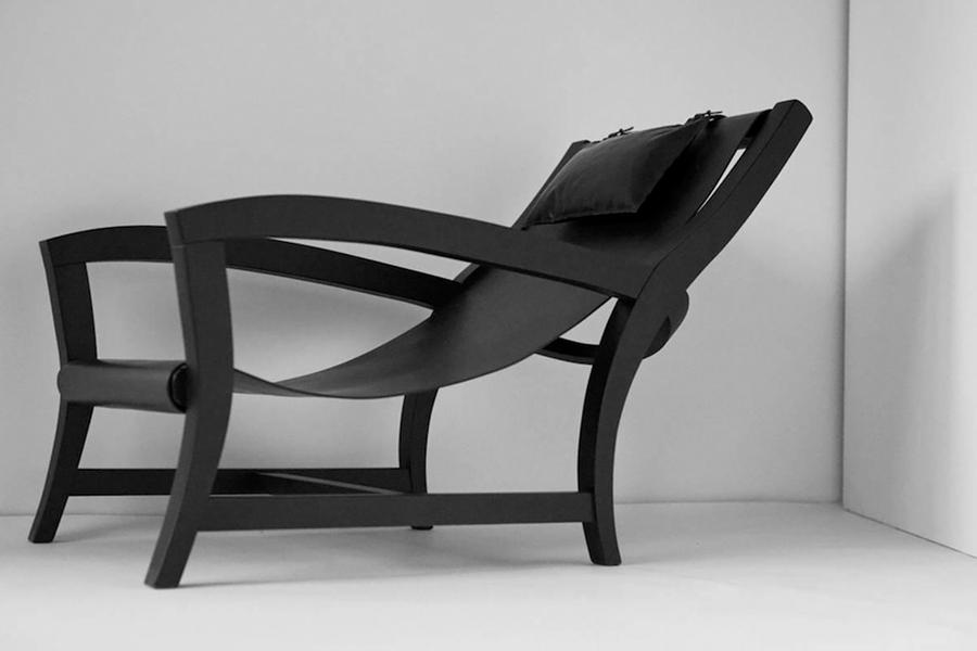 The Secret Place of Design event: Lounge chair by Nodus (photo: courtesy)