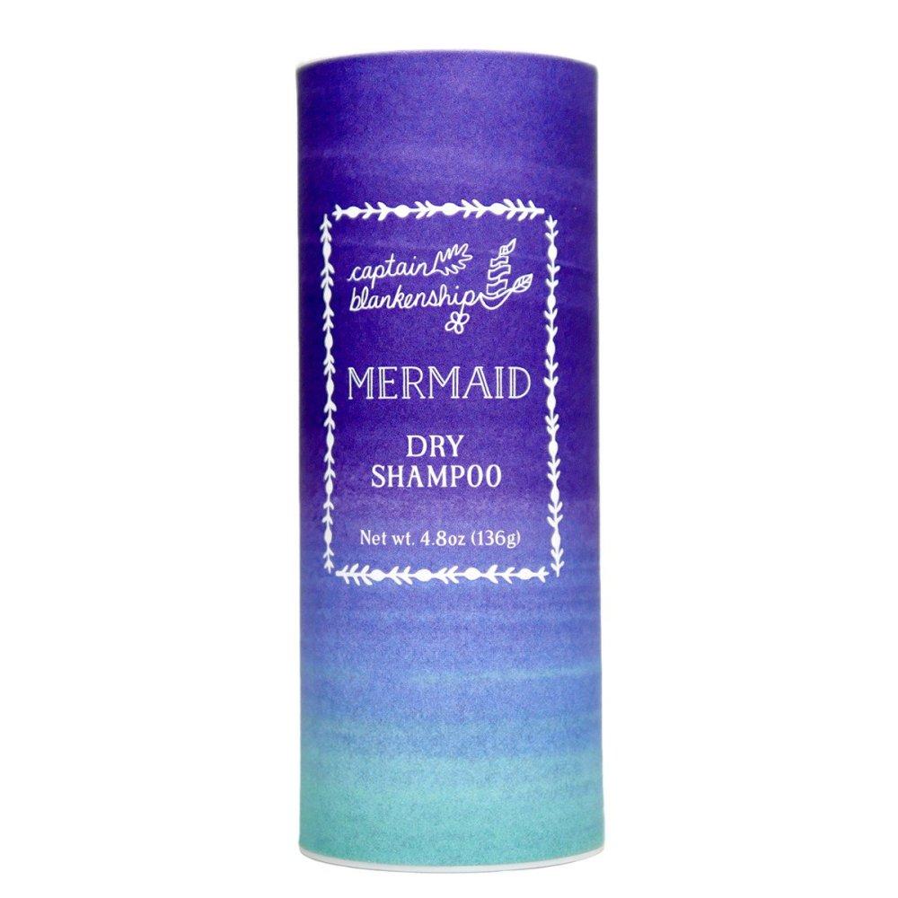 Natural dry shampoo products: Mermaid Dry Shampoo $24.00 (photo: courtesy Captain Blankenship)