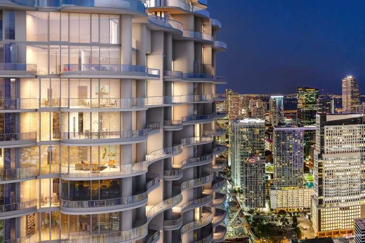 Miami Flatiron building by eco-sustainable artchitect Massimo Iosa Ghini (photo: courtesy)