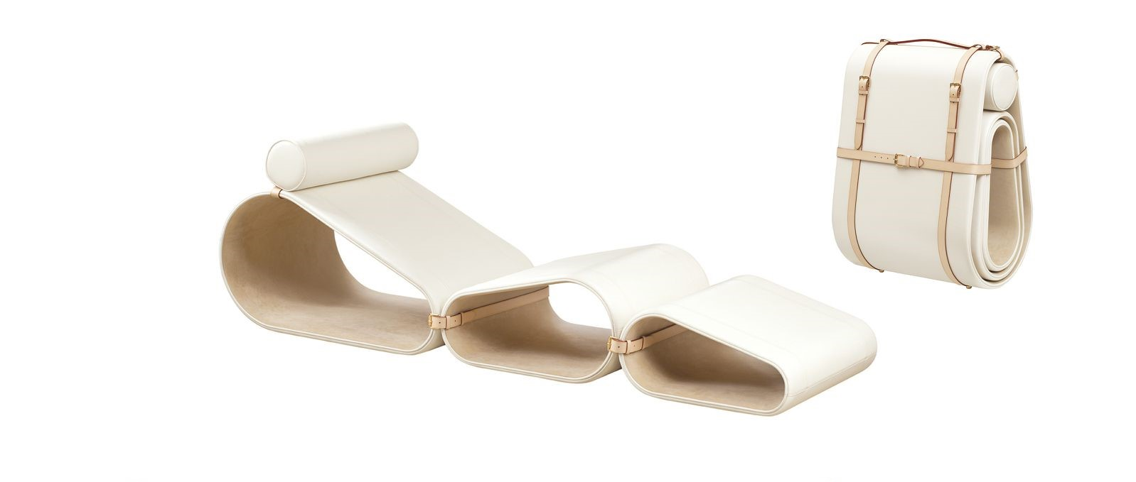 Louis Vuitton Objets Nomades Lounge Chair by Marcel Wanders (photo: courtesy).