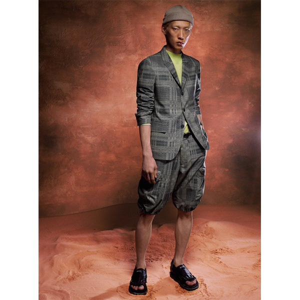 "Z Zegna's new ""Conscious Lifestyle"" collection presented during Pitti Uomo 96 (photo: courtesy)"