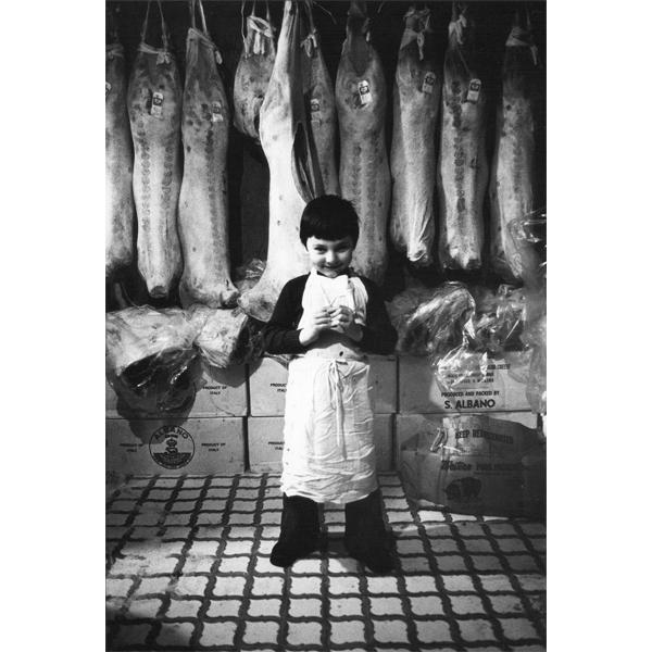 """Arlene Gottfried, """"Butchers Boy_1975"""", copyright Arlene Gottfried. (photo: courtesy Galerie Bene Taschen)"""