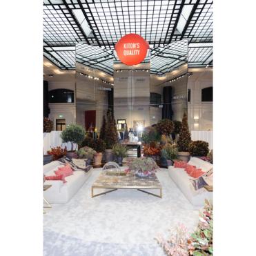 Kiton showroom in Milan (photo: IMAXTREE.COM)
