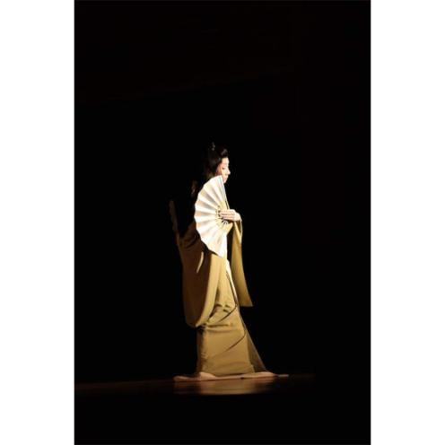 Nihon Buyo dancer (photo: Kyoto Journal)