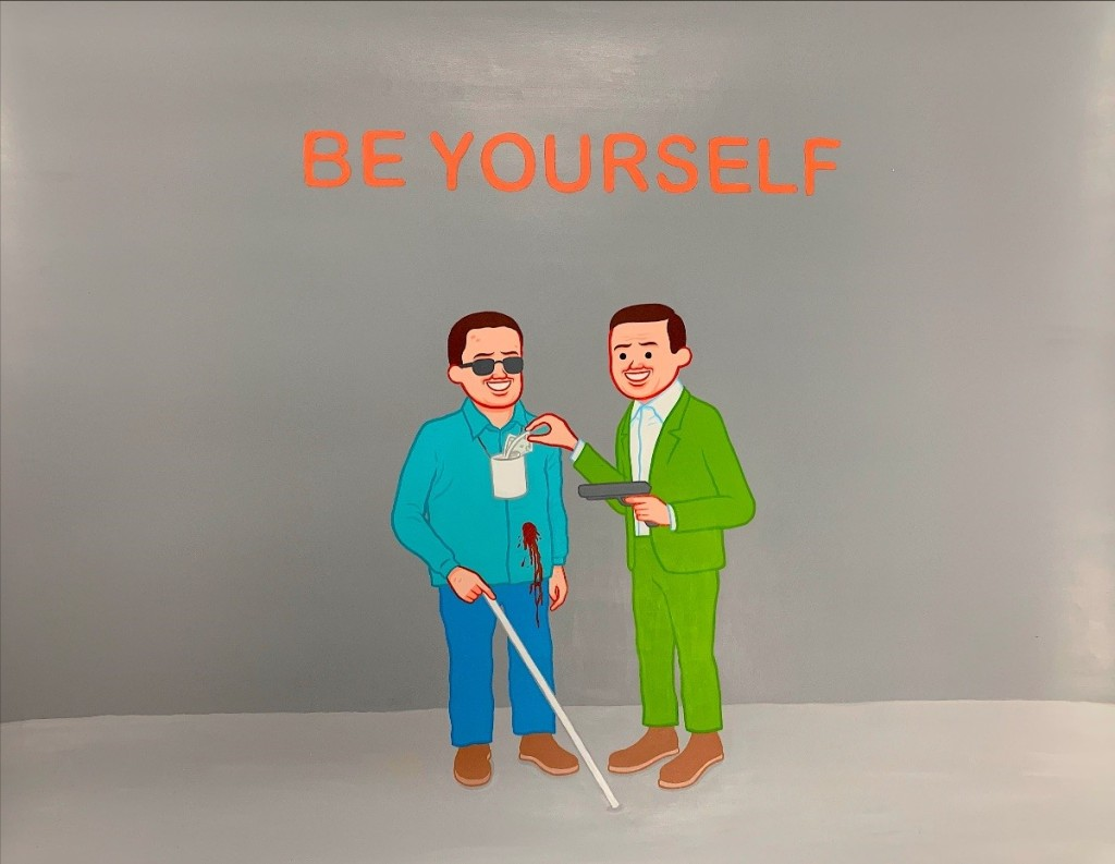 Artwork by Joan Cornella (photo: courtesy GR Gallery)
