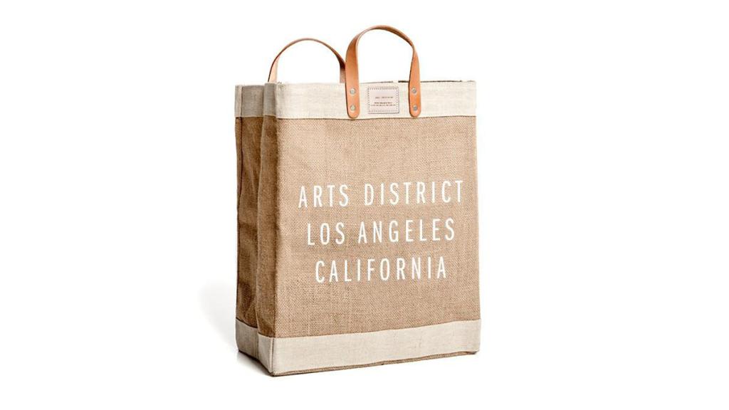 The Best Reusable Lifestyle Bag: Arts District Los Angeles Reusable Market Bag $68 (photo: Arts District Market)