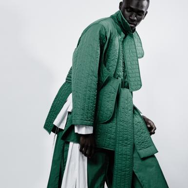 Designer of the Year Menswear nominee Craig Green.