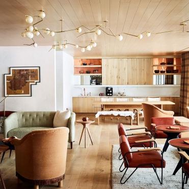 Interiors of The Caldera House. (courtesy Carney Logan Burke Architects)