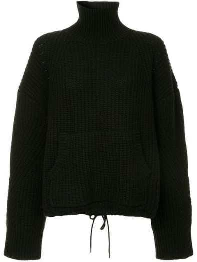 Undercover turtleneck jumper, 100% wool, on sale $680.