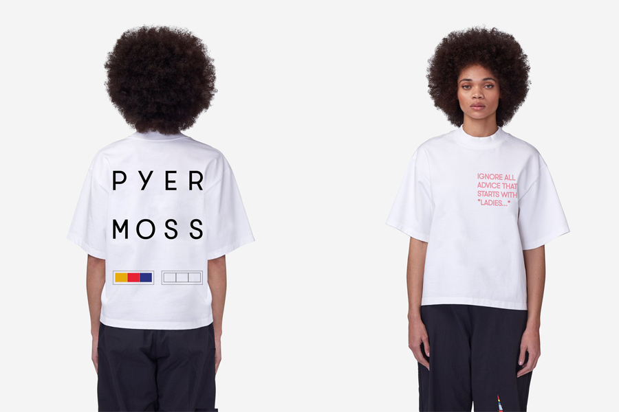 Pyer Moss graphic tee to support women's reproductive rights. (photo: Pyer Moss)