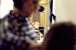 The Fashion Plate backstage at Genny SS19 fashion show. (photos: Monika M. Rozik)