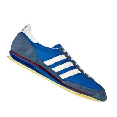 Classic Adidas blue track sneaker circa 1970s. (courtesy photo)