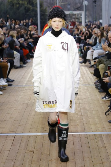 Undercover Fall 2018 runway show. (Photo: Vogue)