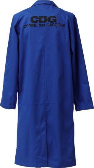 Commes des Garçons workman's coat, 100% cotton, $140.