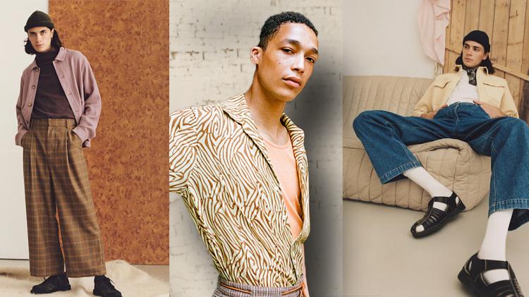 Nanushka's new sustainable fashion line for men.