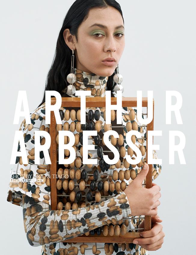Arthur Arbesser fall 2019 campaign (photo: Arthur Arbesser)