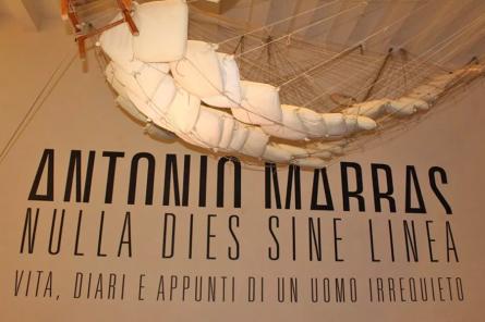 "Antonio Marras exhibition titled ""Nulla dies sine linea"" (photo: ©Paloma Montanaro)"