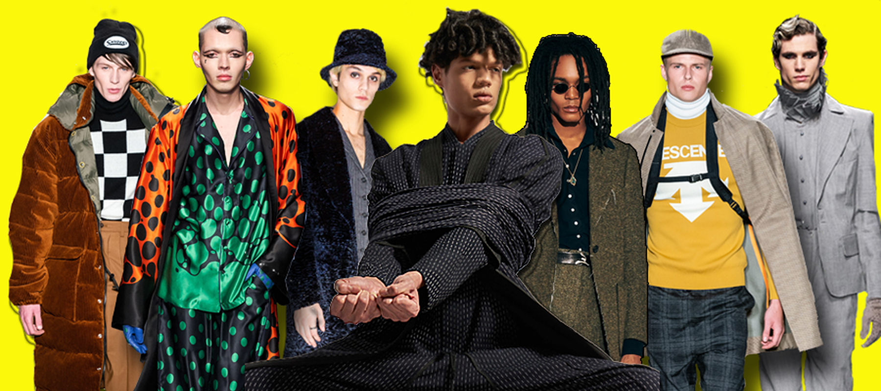 Top Fall 2019 Menswear Trends From New York Fashion Week. (photo: The Fashion Plate)
