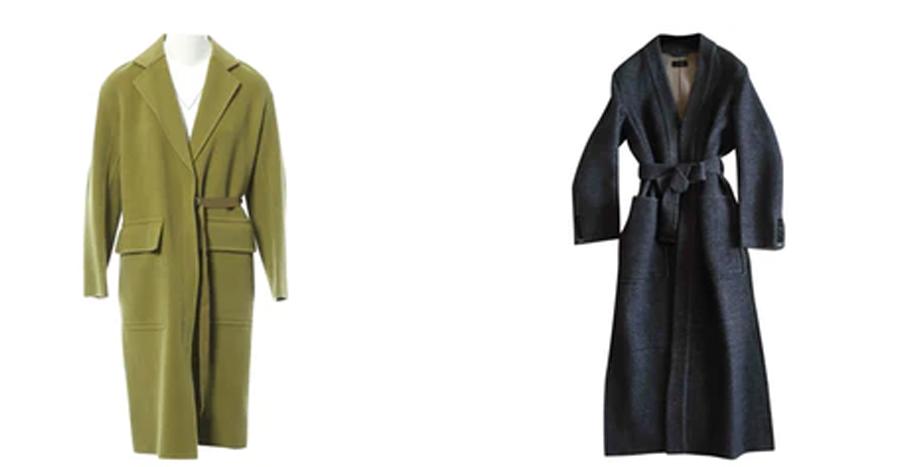 JOSEPH wool coats on the Vestiaire Collective website. (photo: courtesy)